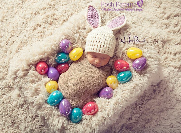 crochet bunny hat patter