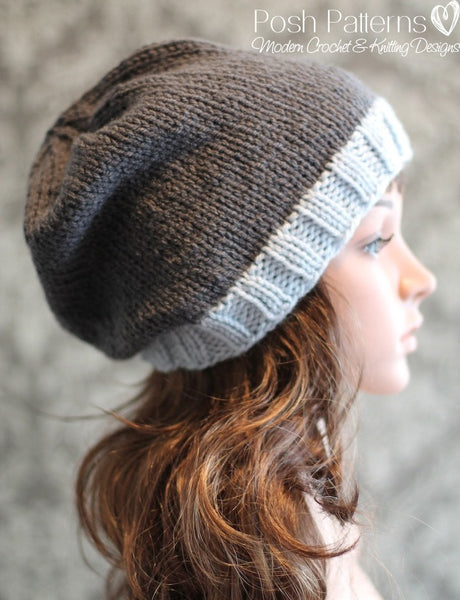 womens hat knitting pattern