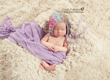 Load image into Gallery viewer, crochet baby bonnet