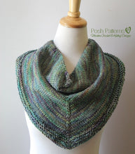 Load image into Gallery viewer, triangle scarf knitting pattern