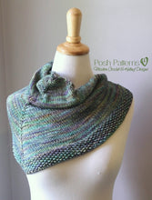 Load image into Gallery viewer, shawl knitting pattern