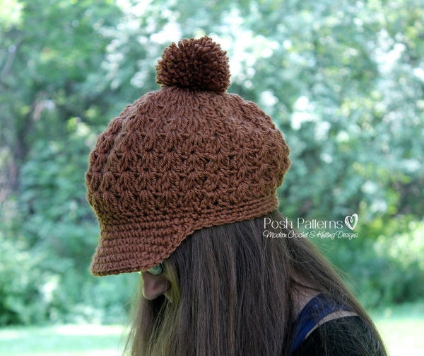 ladies newsboy hat pattern