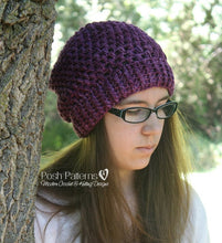 Load image into Gallery viewer, sock yarn hat knitting pattern