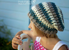 Load image into Gallery viewer, crochet slouchy beanie