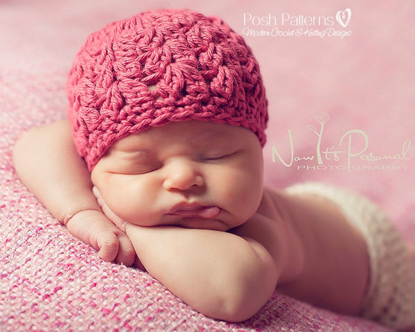 baby hat crochet pattern