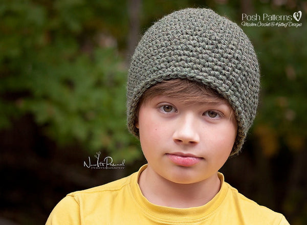 easy crochet hat pattern