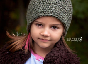 easy crochet beanie pattern