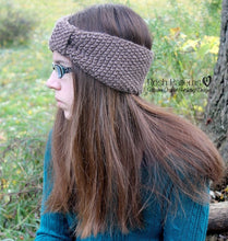 Load image into Gallery viewer, knit headband pattern