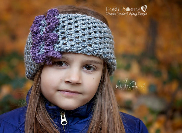 ruffle headband crochet pattern
