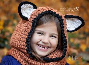 knit fox hood pattern