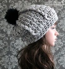 Load image into Gallery viewer, chunky hat crochet pattern