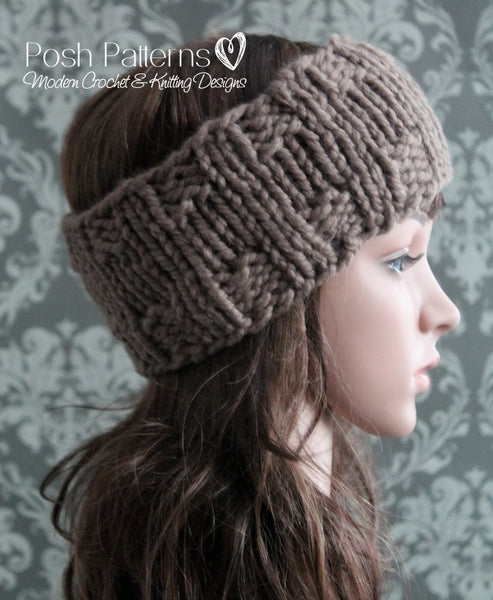 headband knitting pattern women