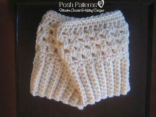 Crochet Pattern - Boot Cuffs - Easy Crochet Boot Cuffs Pattern