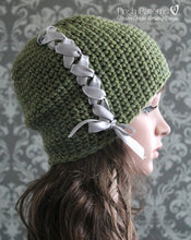 Load image into Gallery viewer, elegant hat crochet pattern