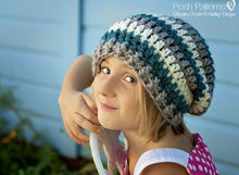 Load image into Gallery viewer, slouchy beanie pattern
