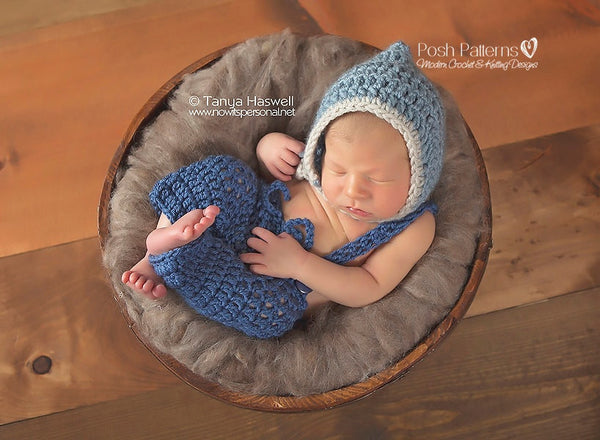 crochet baby pants suspenders pattern
