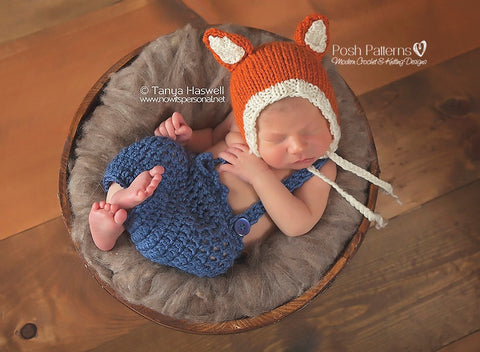 knit fox hat pattern