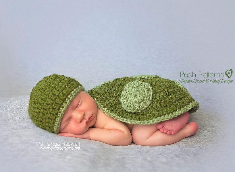 turtle shell and hat crochet pattern