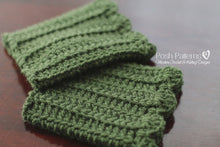 Load image into Gallery viewer, boot cuffs crochet pattern