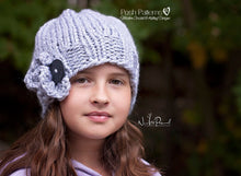Load image into Gallery viewer, elegant knit hat pattern