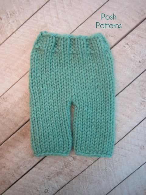 knit baby pants pattern