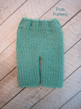 Load image into Gallery viewer, knit baby pants pattern