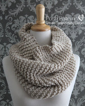 Load image into Gallery viewer, knit cowl pattern