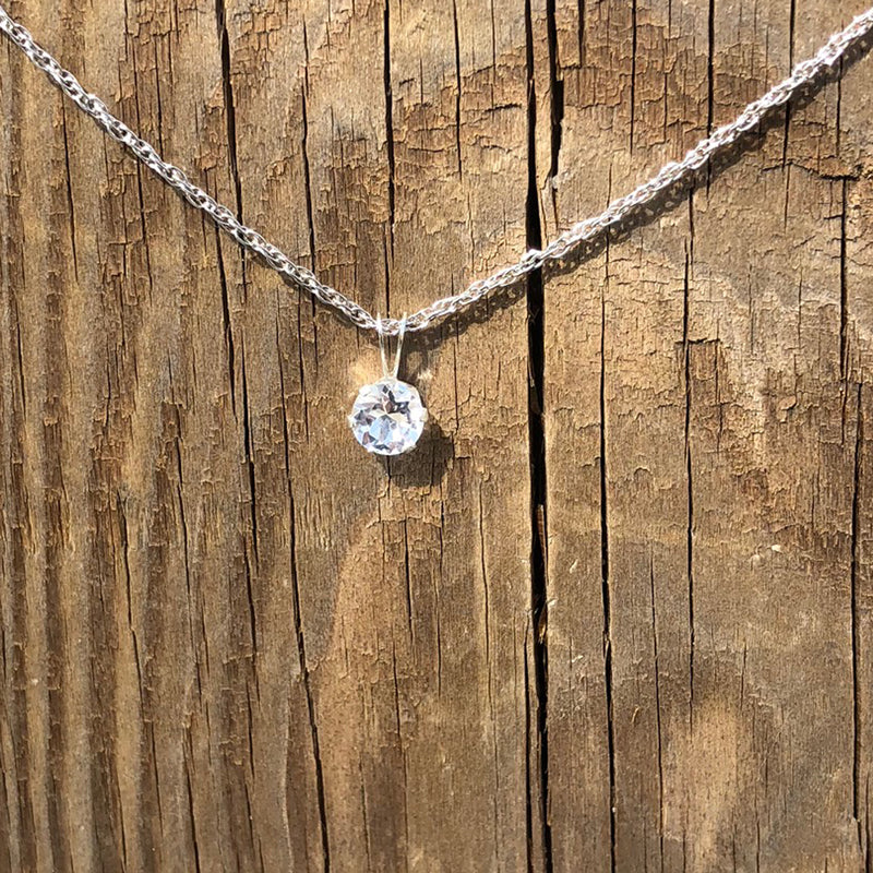 6mm Cape May Diamond Pendant
