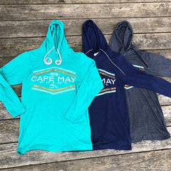 Cape May Point 1878 LS Hoodie Tee