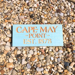 Cape May Point 1878 Sign