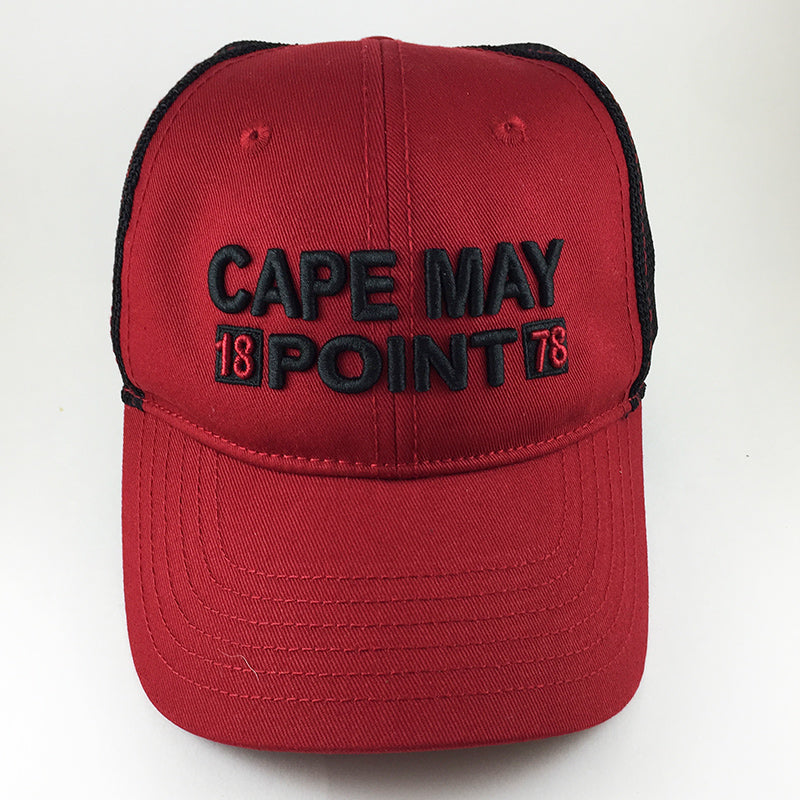 Cape May Point Hat - Red