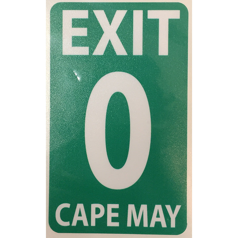 Exit 0 Decal