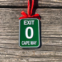 Exit 0 Holiday Ornament