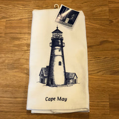 Lighthouse Souvenir Dish Towel