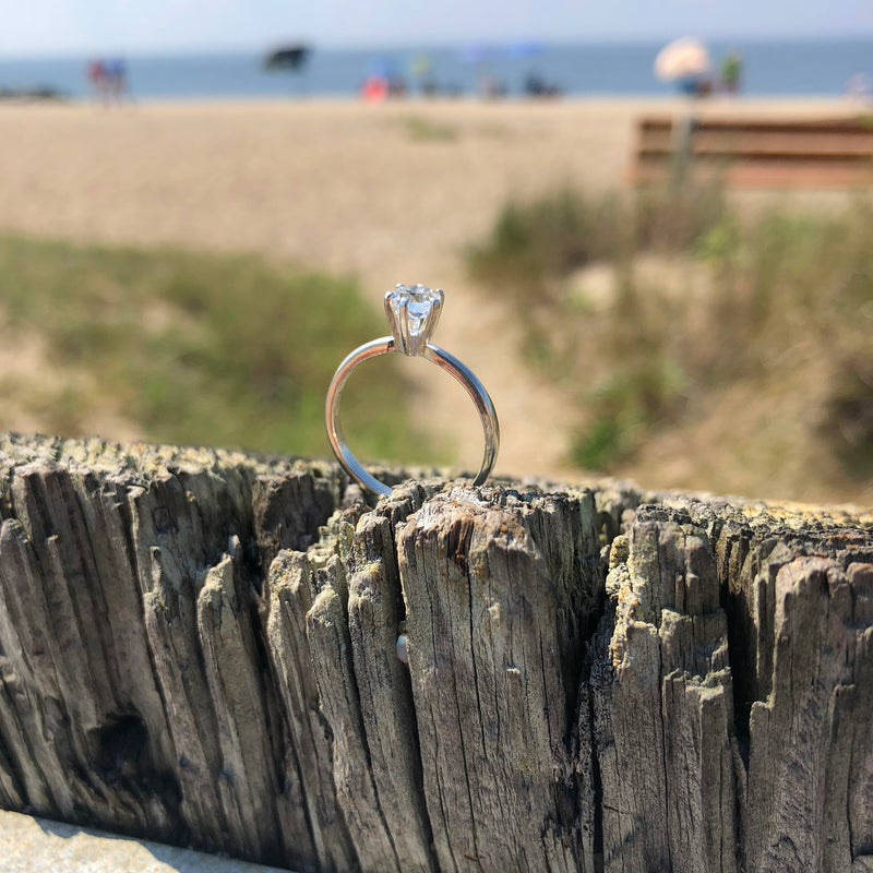 5mm Cape May Diamond Ring