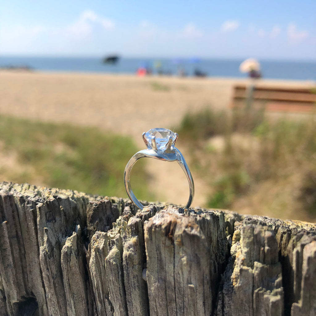 8mm Cape May Diamond Ring