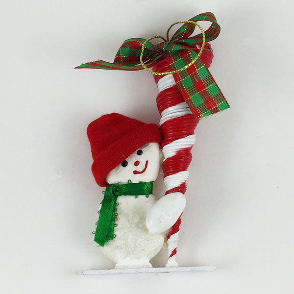 Sea Shell Ornament - Snowman