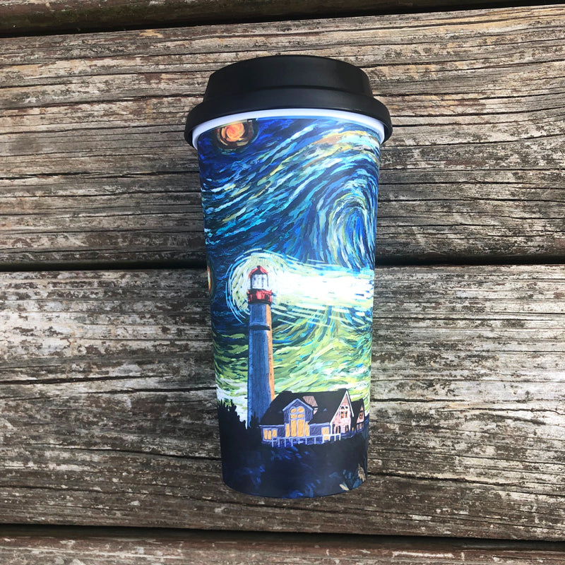 Starry Starry Cape May Travel Mug