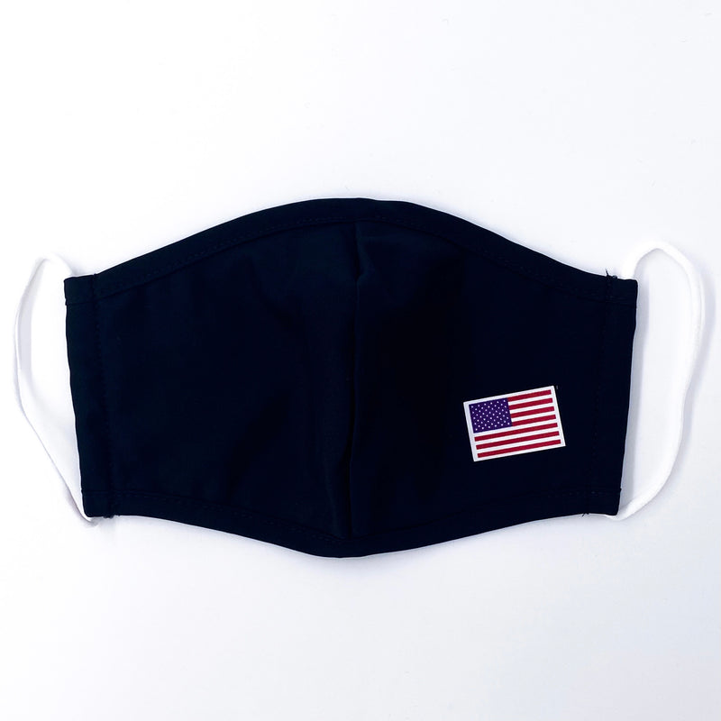 Mask With USA Flag 2 Pack