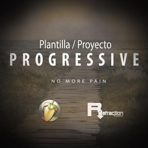 Progressive House - Project Template - FL Studio
