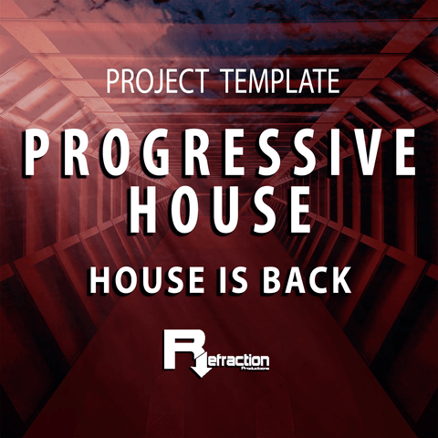 Progressive House - Project Template - STEMS