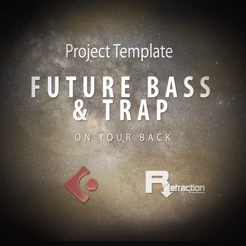 Future Bass & Trap - Project Template - Cubase