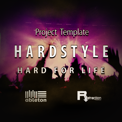 HardStyle - Project Template - Ableton