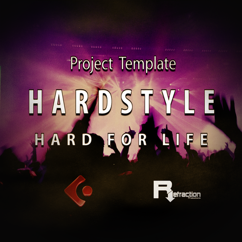 HardStyle - Project Template - Cubase