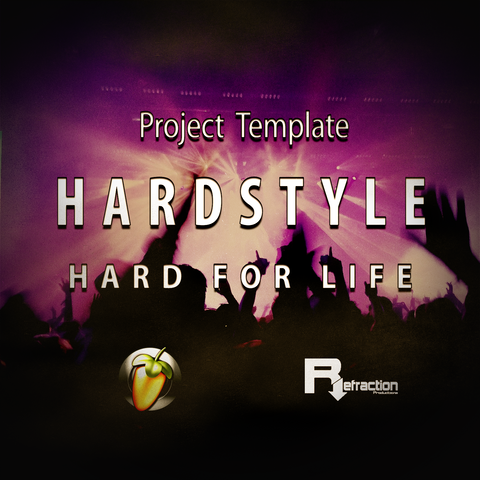 HardStyle - Project Template - FL Studio