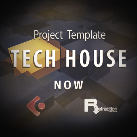 Tech House - Project Template - Cubase