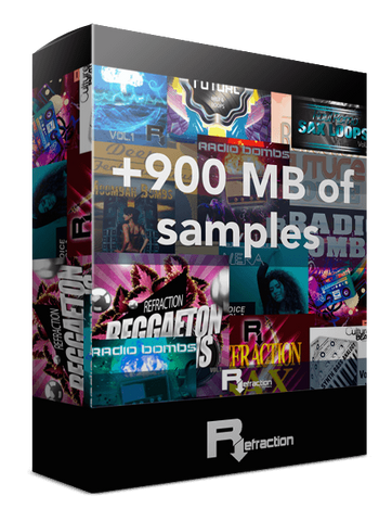 +900MB of free loops & samples
