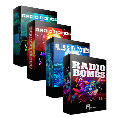 Radio Bombs 1, 2, 3 & Fills & Fx Bombs