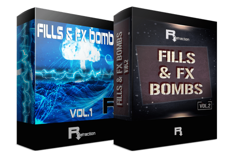 Fills & FX Bombs Vol.1 & Vol.2