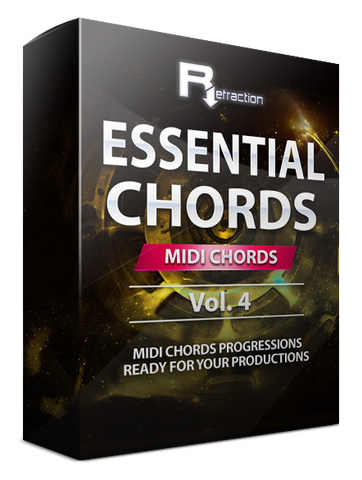Refraction Essential Chords Vol.4 - MIDI Progressions